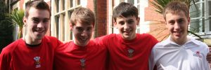 Wales Hockey International Players at Ffynone House School
