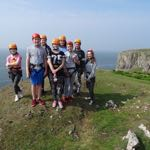 Ffynone House School team building day with RIPNROCK at Rhossili