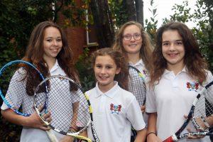 Ffynone House School Tennis Team