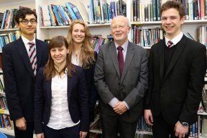 Ffynone House McWhirter students