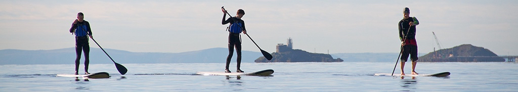 Paddle Boarding in Swansea Bay