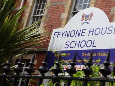 Ffynone house school front of school