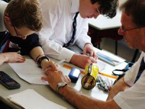 Ffynone House School Mathematics lesson