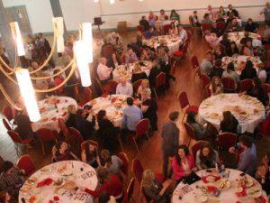 Friends of Ffynone House School enjoying a social event