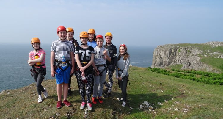 RIPNROCK Teambuilding with Ffynone House School