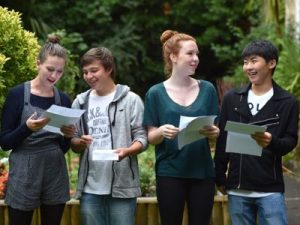 Ffynone House School GCSE results day