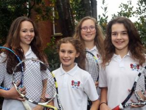 Ffynone House School Girls Tennis Team