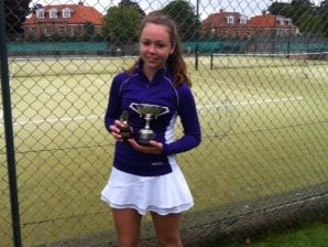 Ffynone House Tennis Success at Winchester for Elinor