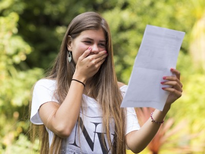 School A Level Results 2016