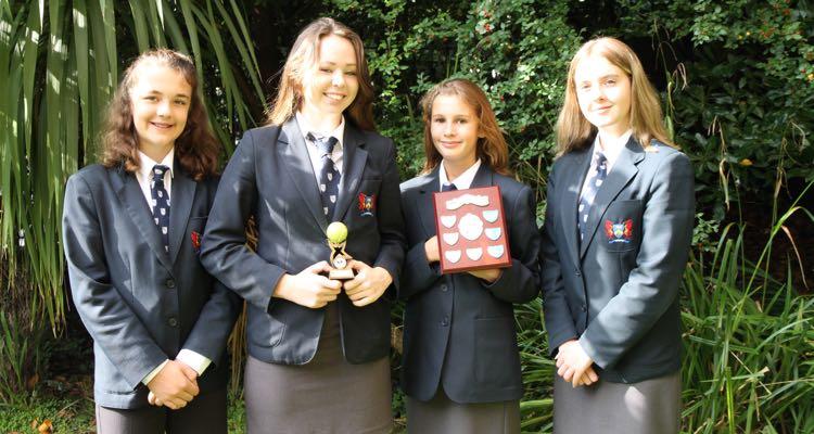Ffynone House School South Wales Y10 Tennis Champions 2016