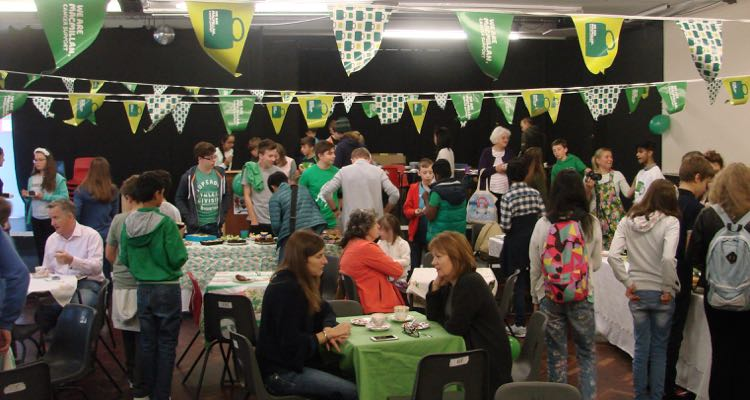 Macmillan Coffee Morning at Ffynone House School