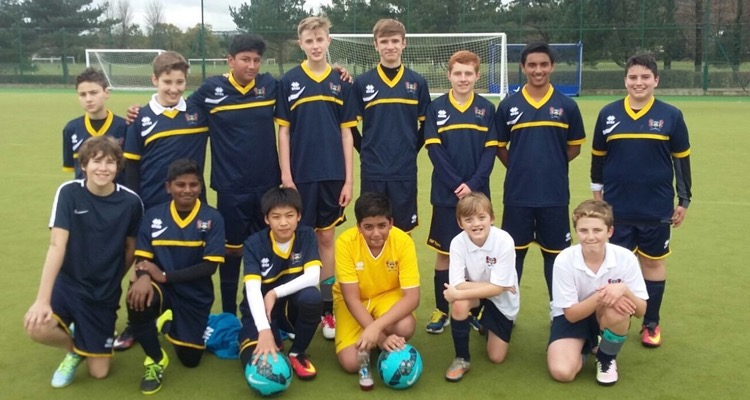 Ffynone House School Football Team November 2016