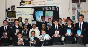 Author Sam Angus visits Ffynone House School