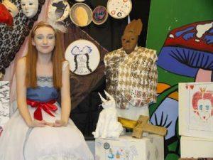Ffynone House School performance of Wonderland