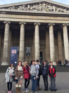 Ffynone House School Classics Trip to British Museum