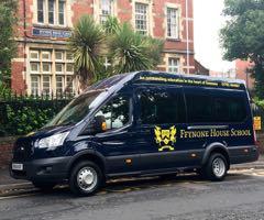 Ffynone House School minibus