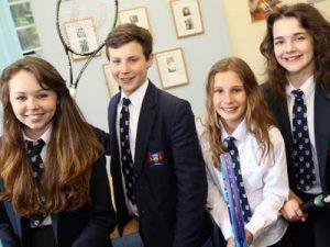 Ffynone House School Tennis Champions