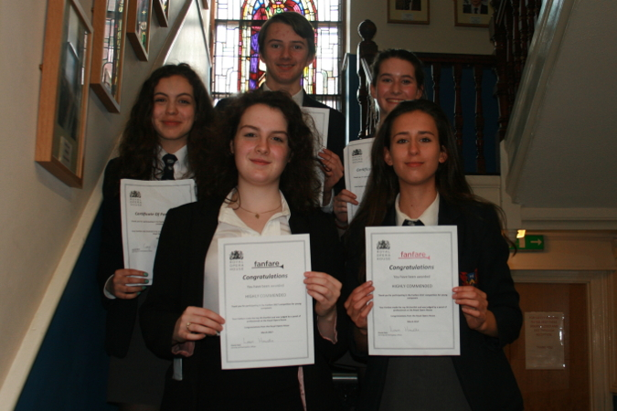 Ffynone House School students Royal Opera House success