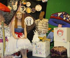 Ffynone House School Wonderland show