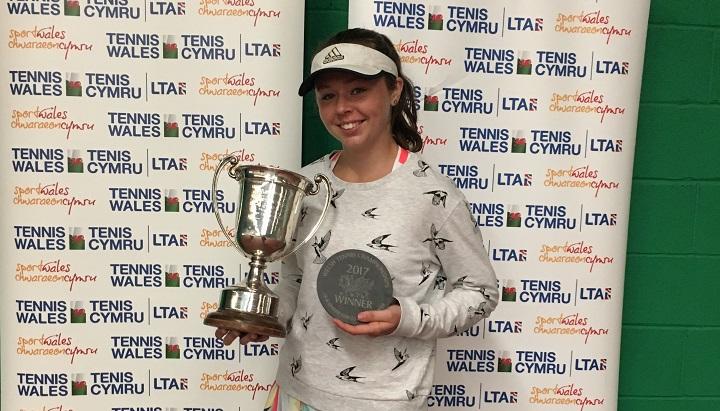 Ffynone House School student wins prestigious tennis scholarship
