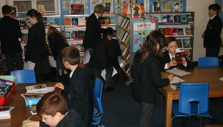 Ffynone House School Scholastic Book Fair
