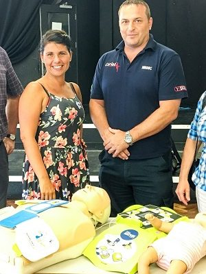 Ffynone House School Defibrillator