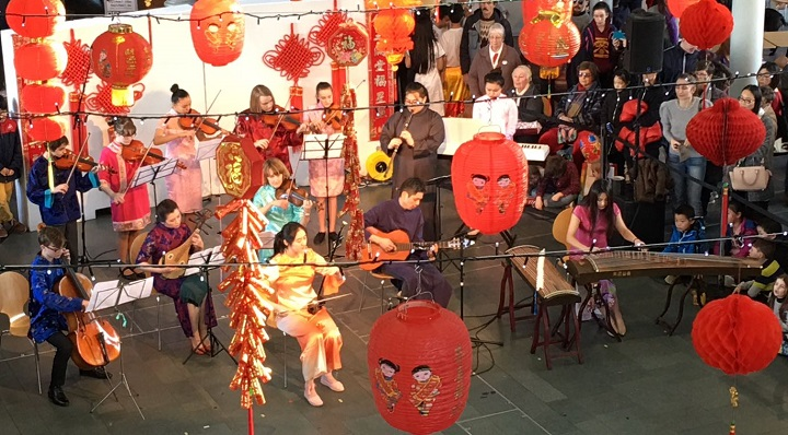 Ffynone House School Musicians Chinese New Year