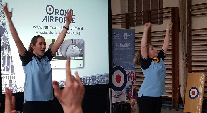 Ffynone House School RAF Roadshow