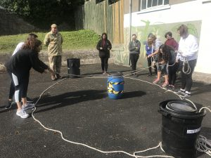 Ffynone House School British Army team building day