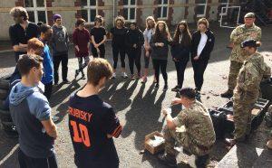 Ffynone House School British Army team building day