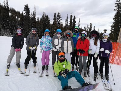 Ffynone House School Ski trip 2018 Jasper