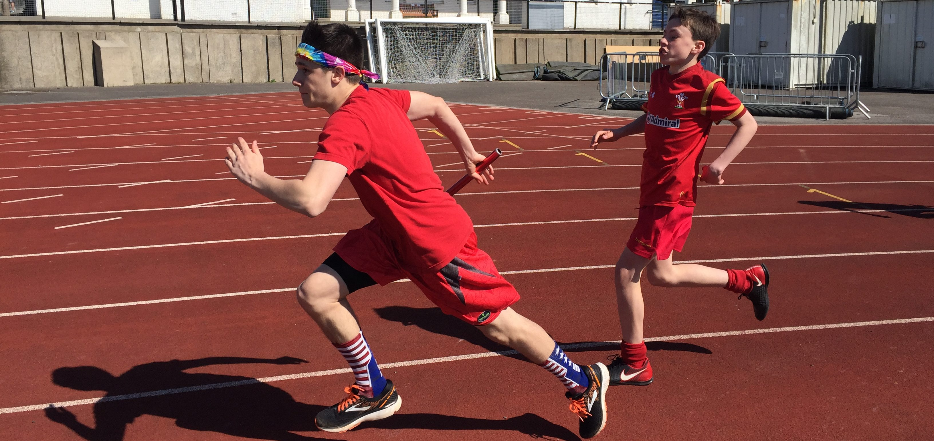 Students jump, sprint and throw their way to victory on Sports Day