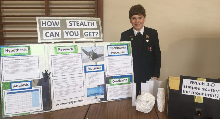 Year 8 show superb self-study skills at Science and Technology Fair