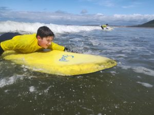 Ffynone House School Pupil Surfing