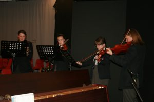 Ffynone House School Violinists