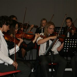 Ffynone House violin ensemble