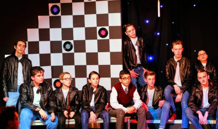 Grease is the word at Ffynone House School