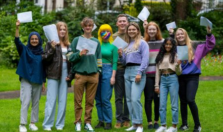 Superb A Level results in challenging times – 2021